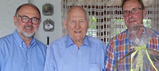 Zum 85. Ehrenmitglied Rolf Feulner